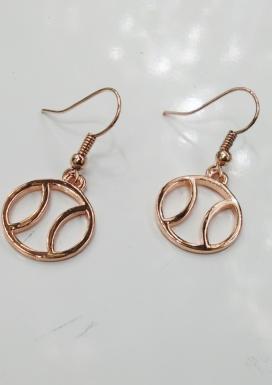 Rose Gold Madison Earring